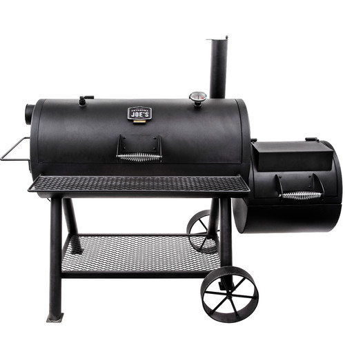 Char-Broil Oklahoma Joe's Longhorn Reverse Flow Offset Charcoal Smoker and Grill
