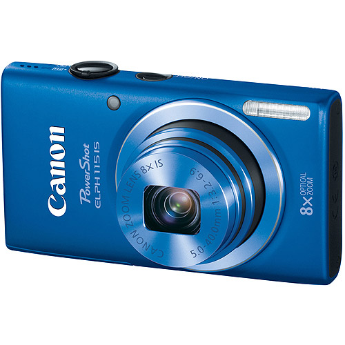 CANON 8605B001 16.0 Megapixel PowerShot(R) ELPH(R) 115 IS Digital Camera (Blue)