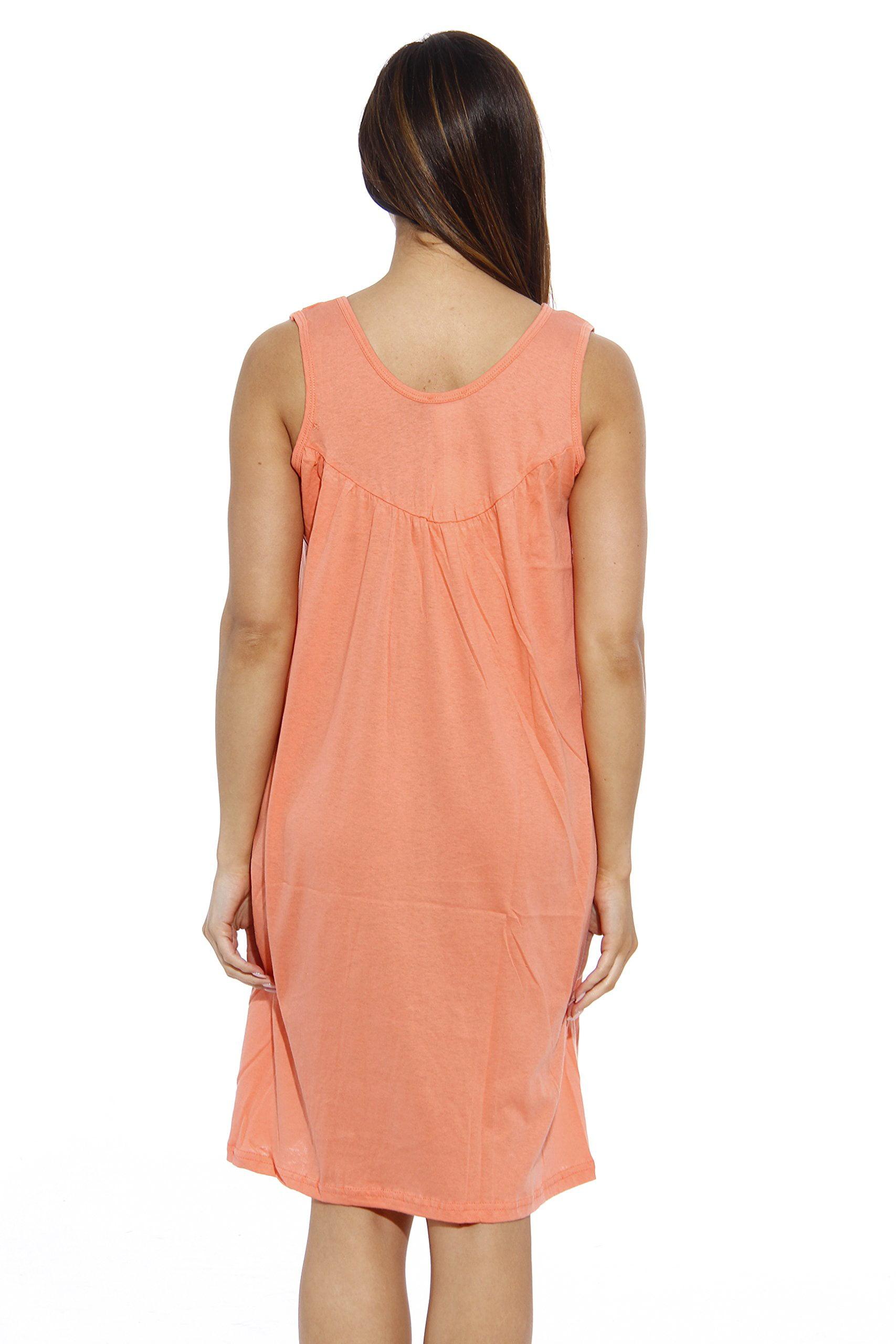 09e70c9718 Dreamcrest Nightgown   Womans Pajamas   Women Sleepwear (Strawberry Scoop  Neck