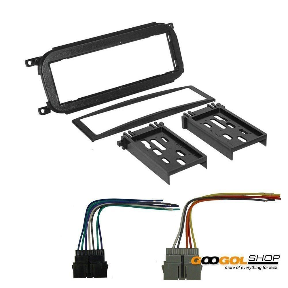 dodge 2001 caravan car stereo dash install mounting kit wire harness
