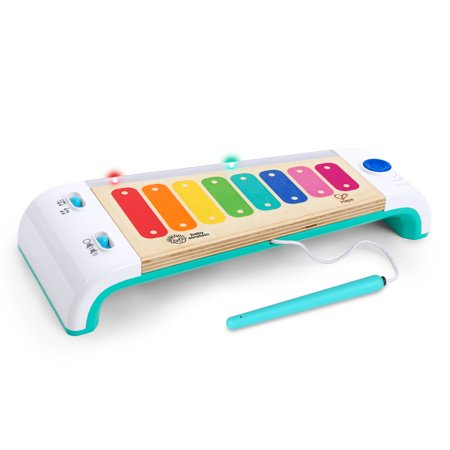 Baby Einstein Magic Touch Xylophone Wooden Musical Toy with Lights, Ages 12 months + Fisher Price Xylophone