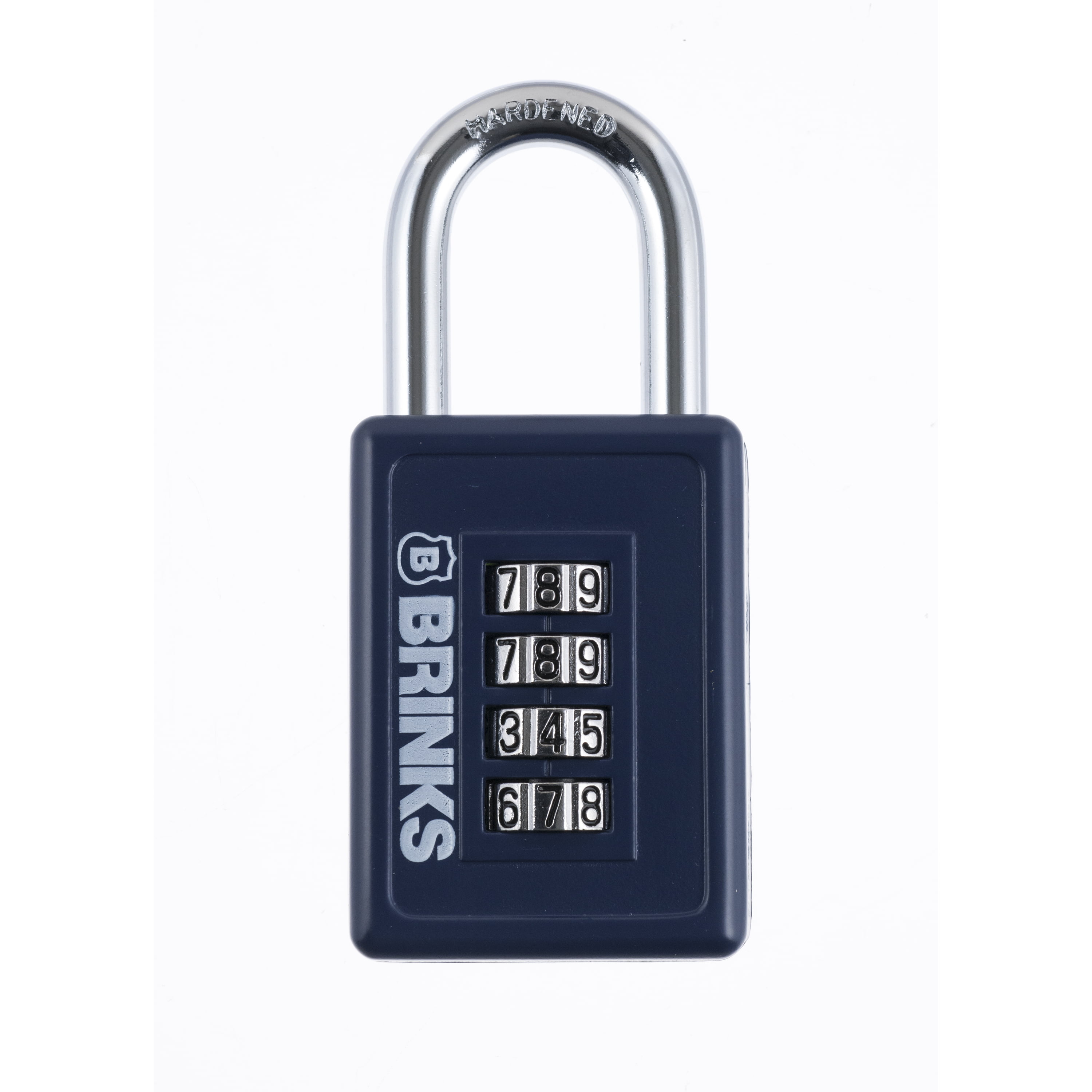 Brink's 40mm Resettable Combination Sport Padlock, Assorted Colors by Hampton Products Int'l Corp.