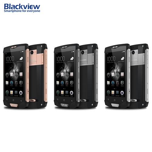 "Blackview BV8000 Pro 5"" Android 7.0 Smartphone 4G LTE Dual Sim 6G RAM+ 64G ROM IP68 Waterproof Mobile Phone,Rose Gold"