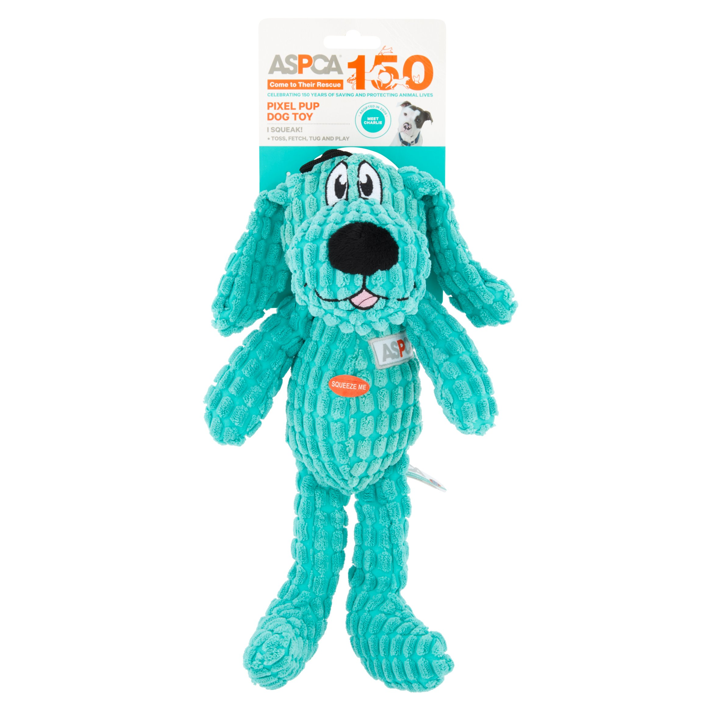 ASPCA Pixel Pup Dog Toy