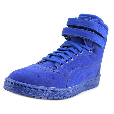 PUMA - Puma Sky II Hi Mono Nbk Men Round Toe Leather Blue Sneakers -  Walmart.com 24a9d9b5d
