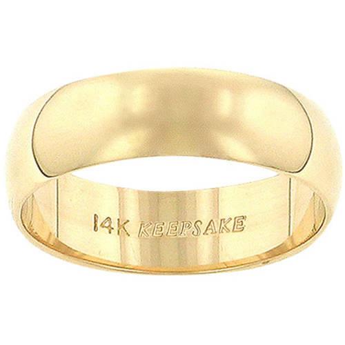 Keepsake 14kt Yellow Gold 6mm Wedding Band