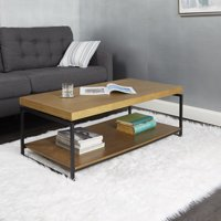 Better Homes & Gardens Juno Natural Wood Coffee Table with Shelf