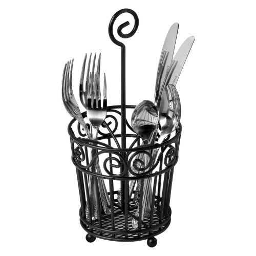 Spectrum Scroll Silverware Caddy