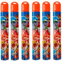 Little Kids Paw Patrol 2.3 Fluid Ounce Bubble Wand, 6 Pack, Boy