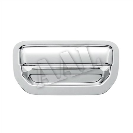 Honda Ridgeline Tailgate Lock (AAL Premium Chrome Cover For Honda 2006-2015 Ridgeline Trunk Tailgate Handle Chrome Cover Without Keyhole )