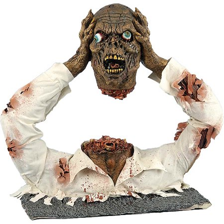 Halloween Headless Zombie Ground Breaker Prop - Goosebumps 2000 Headless Halloween