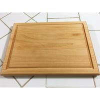Hard Maple Wood Edge grain with juice groove Cutting Board