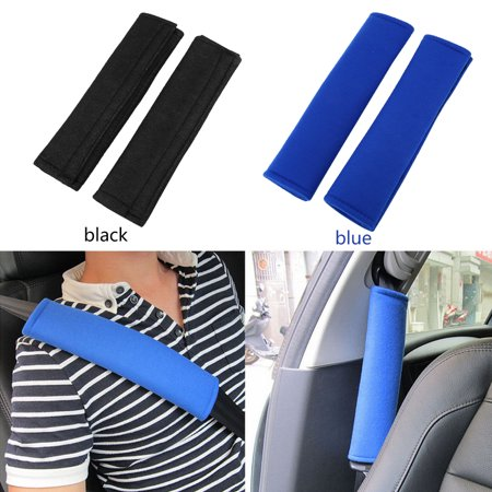 WALFRONT 2pcs/Set Universal Car Seat Belt Protection Pads Comfortable Shoulder Strap Cushion Cover, Seat Belt Shoulder Pad, Seat Belt Pad - image 1 de 3