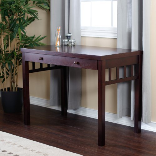 Small Mission Writing Desk - Dark Cherry