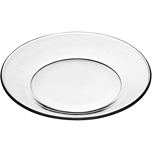 Mainstays Round Salad Plate, Clear