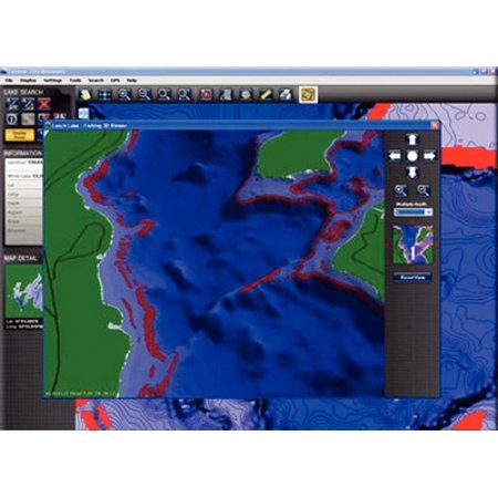 Puzzle Play Mazes Software - Lakemaster Charts Lakemaster Contour EliteTM Lake Map Software ND-SD-NE 6000141