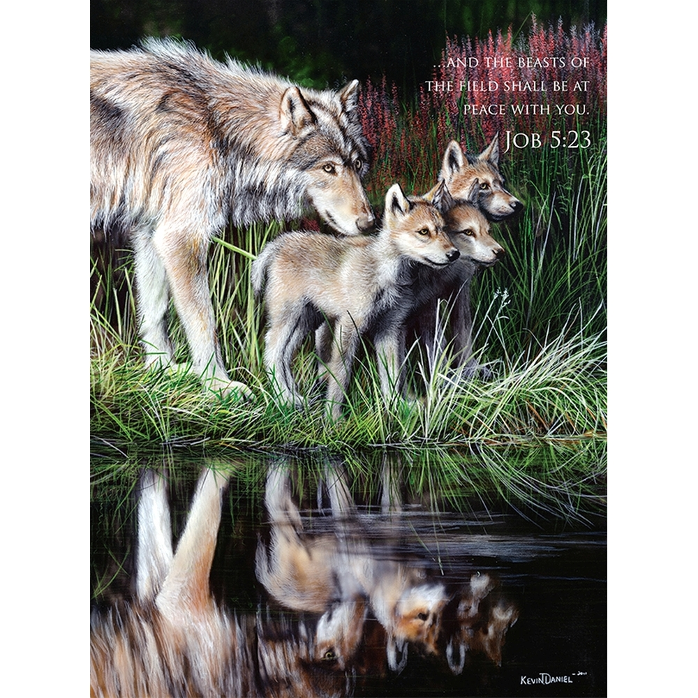 Reflections 1000 Piece Puzzle,  Bible by LPF Limited