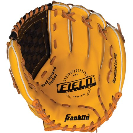 Franklin Sports Field Master Series Baseball Glove  Left Handed Thrower