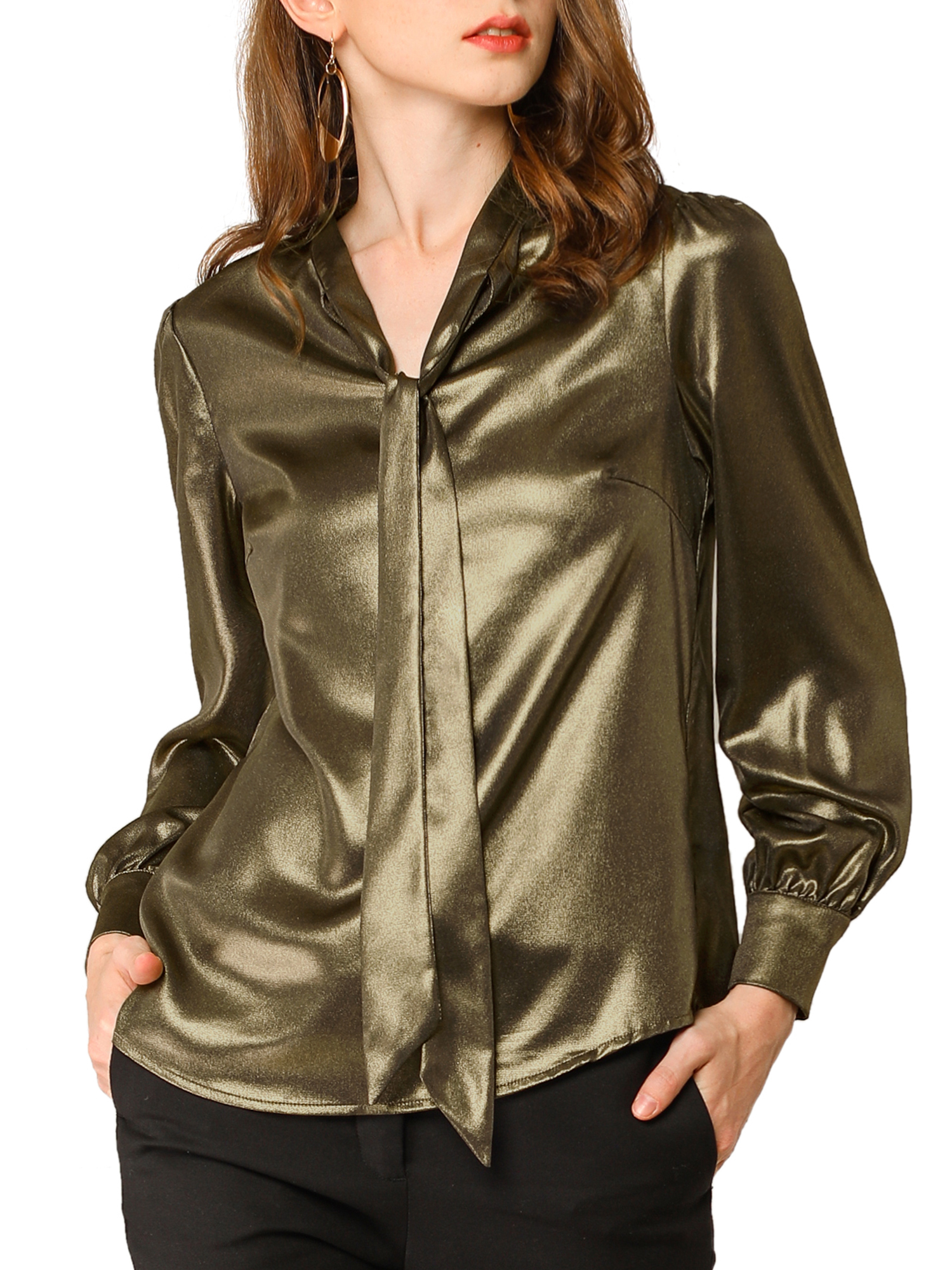 Details about  /3 Pair Sleeve Holder Gold Silver Blouse Shirt
