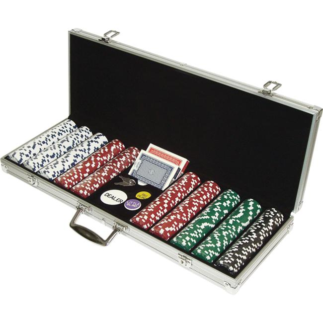 500 Dice Style 11. 5g Poker Chip Set - Retail Ready!