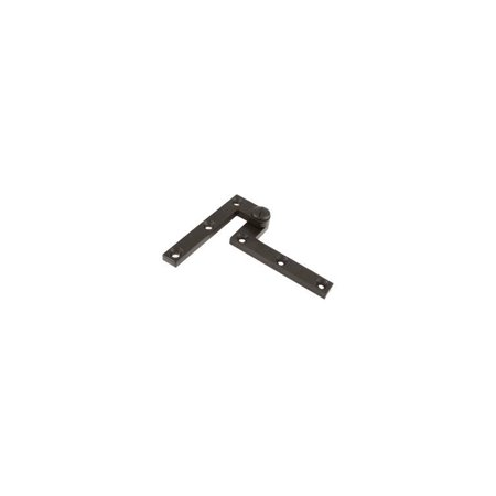 4.38 in. x 0.63 in. x 0.38 in. Solid Brass Pivot Hinge - Pair (Oil Rubbed Bronze) ()