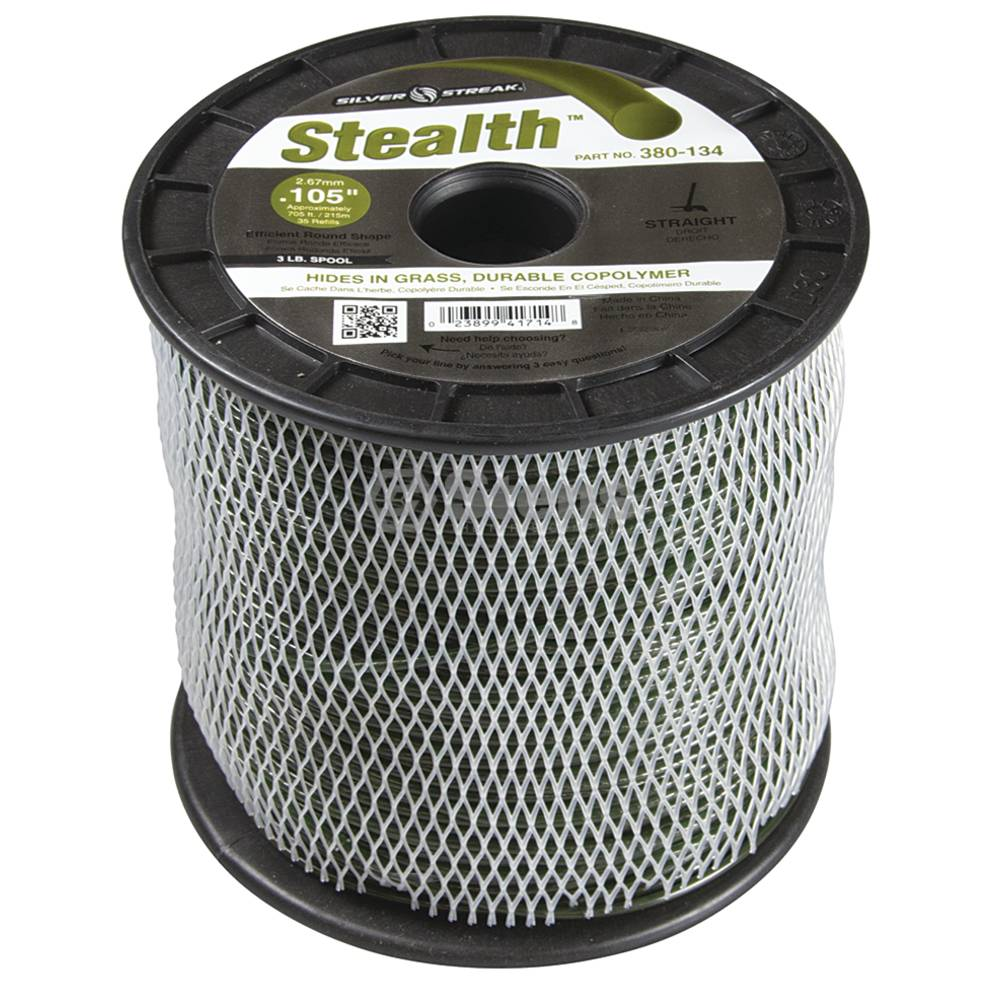 Stens 380-134 Stealth Trimmer Line Fits Model .105 3 Lb. Spool