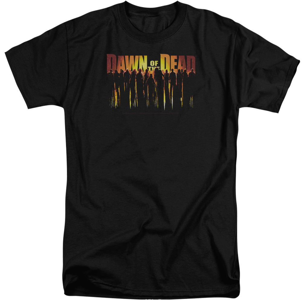 Dawn Of The Dead Walking Dead Mens Big and Tall Shirt