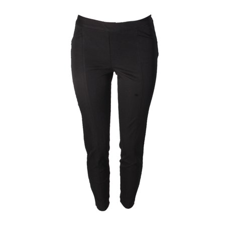 Alfani Black Side Zip Skinny Ankle Pants 4
