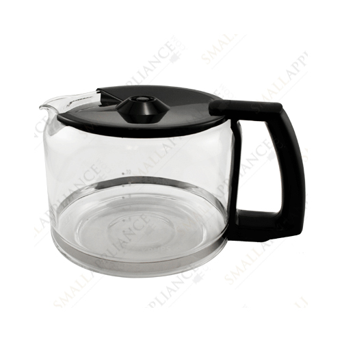 Krups F0344210F Pro Aroma 10 Cup Glass Carafe, Black Handle (Includes lid)