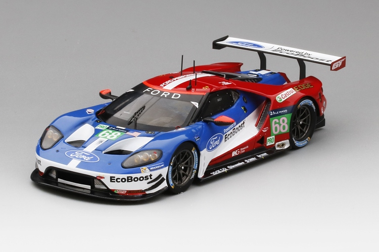 Ford Gt   Le Mans  Hrs Model Car In  Scale By Truescale Miniatures Walmart Com