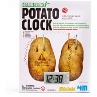 4M Green Science Potato Clock Kit, 1 Each