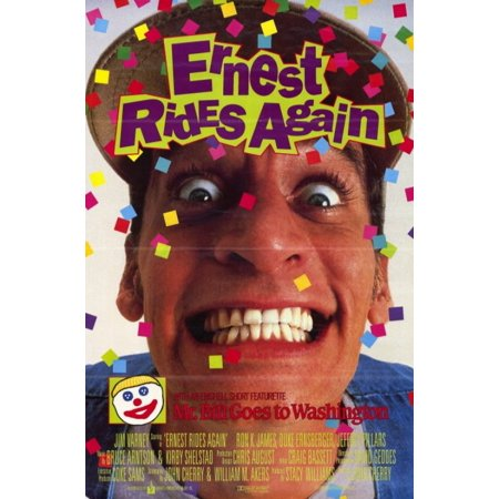 Ernest Rides Again Movie Poster (11 x (Alvin Poster)