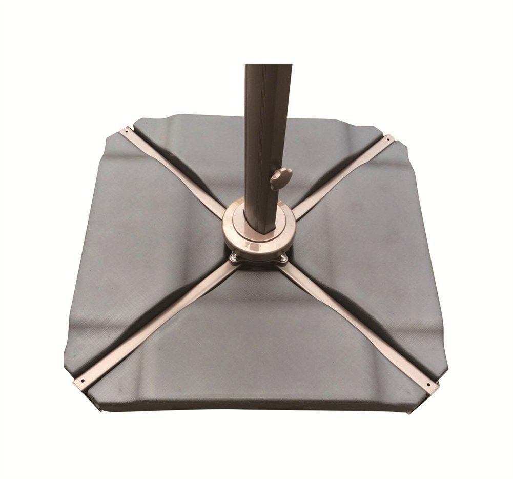 Abba Patio Cantilever Offset Umbrella Base Plate Set, 4 Piece Plastic,  Black   Walmart.com