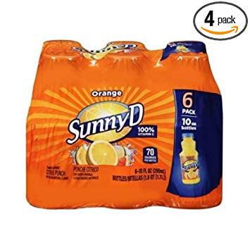 4 PACKS : Sunny D Orange Juice Drink, 60 Fluid Ounce -- 4 per case.](Orange Alcoholic Drinks Halloween)
