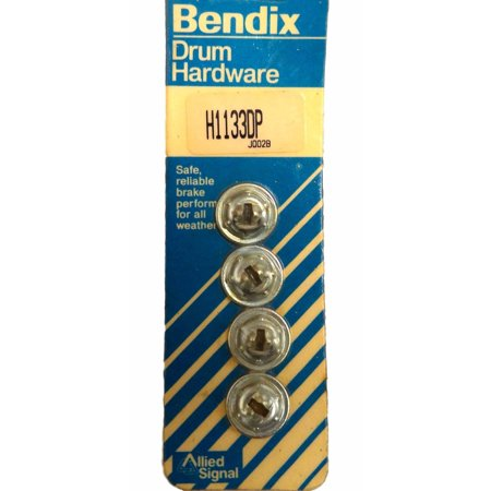 Bendix H1133DP Brake Hold Down Spring Bottom Cup Fits 1975 GMC Brake Hold Down Spring
