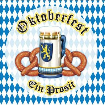 Oktoberfest Luncheon Napkins (16 Pack) - Party Supplies