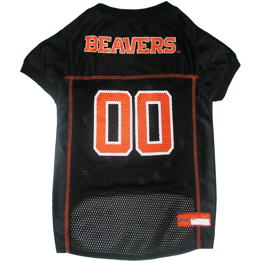 Pets First College Oregon State Beavers Collegiate Dog Jersey, Available in Various Sizes