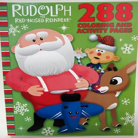 - Rudolph the Red-Nosed Reindeer Celebration Season 288 Page Coloring & Activity Book by Bendon