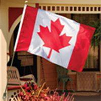 FLAG CANADA POLY STL POLE 3X5