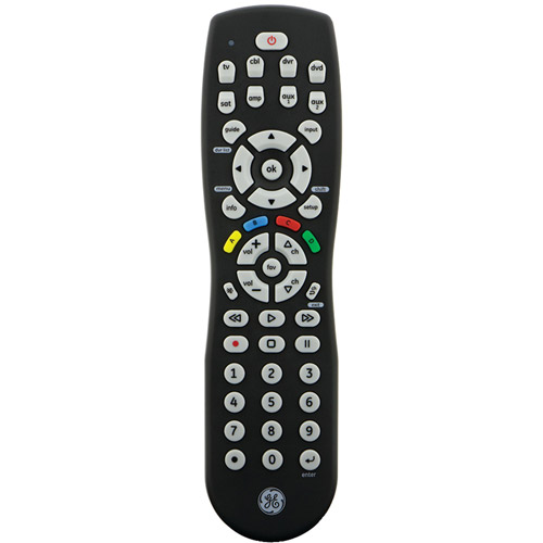 GE Universal Remote, 8 Devices