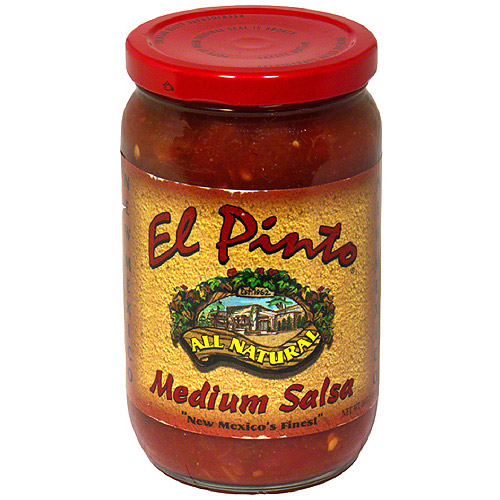 El Pinto Medium Salsa, 16 oz, (Pack of 6)