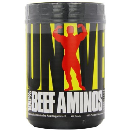 Universal Nutrition 100% Beef Aminos, 400 Tablets