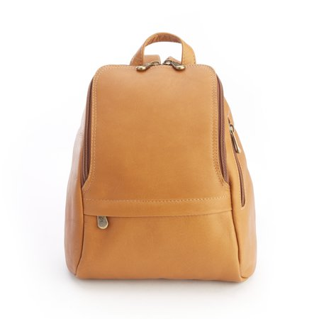 Royce Leather Top Grain - Royce Colombian Genuine Leather Tan Fashion Backpack