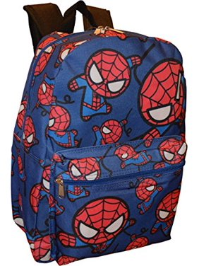Backpack - Marvel - Spiderman - Blue All-Over Print New 95024