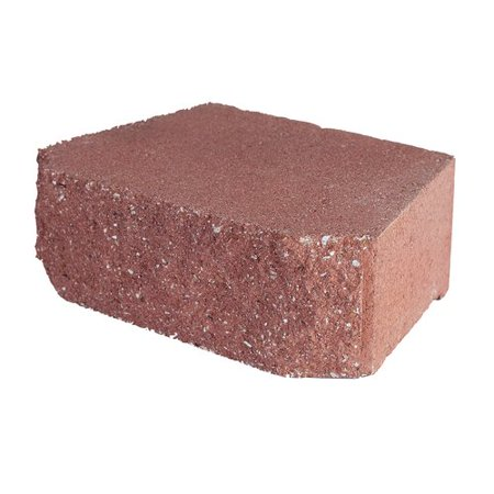 "Image of Pavestone 12"" Wall Red"