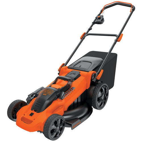 Click here to buy Black & Decker CM2040 40V Cordless 20 in. Lawn Mower by Stanley Black & Decker.