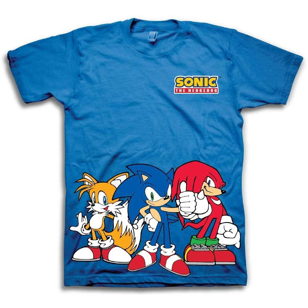 sonic the hedgehog t shirts