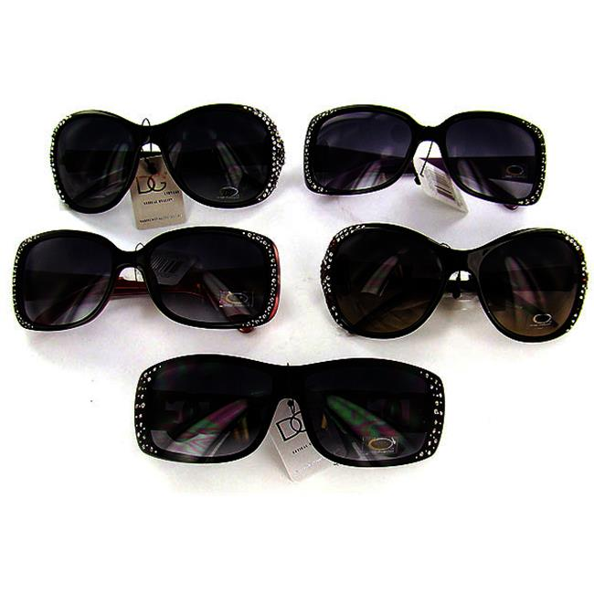 DDI DG Sunglasses with Crystals- Case of 3