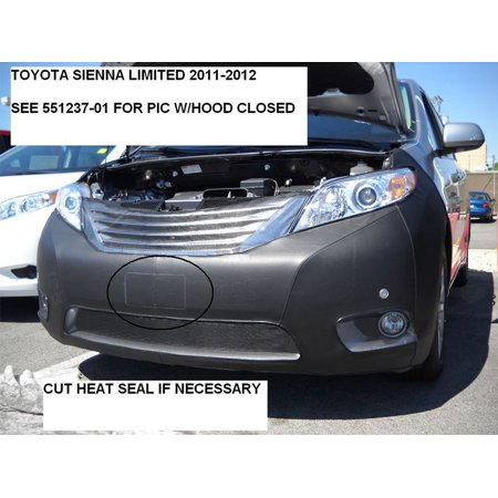 LeBra Front End Mask Cover-551349-01 fits Toyota Sienna Limited 2011,2012,2013,2014,2015,2016,2017