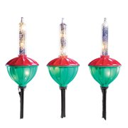 outdoor christmas bubble lights decoration set of 3
